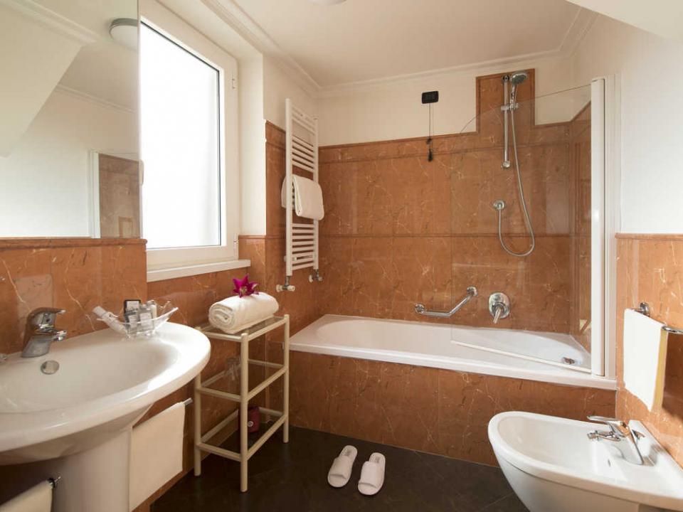 Bagno Hotel Gregoriana Tre Stelle Roma Centro